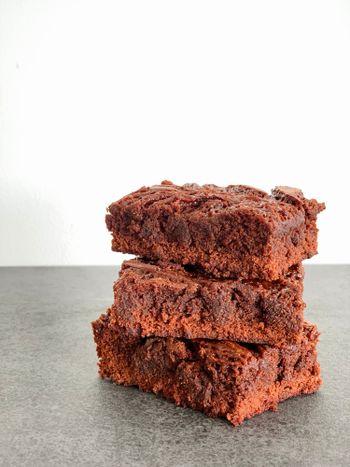 Fudge Caramel Brownies