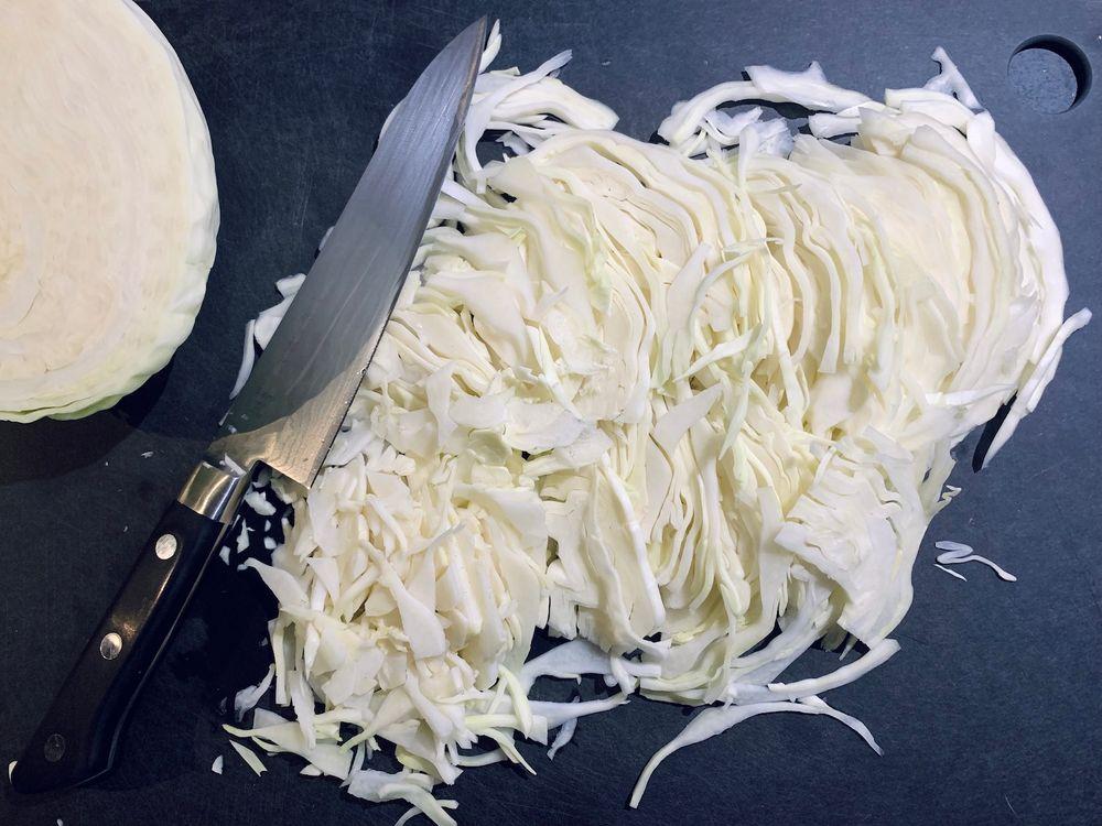 Sauerkraut (Pickled Cabbage) | Cook With ❤