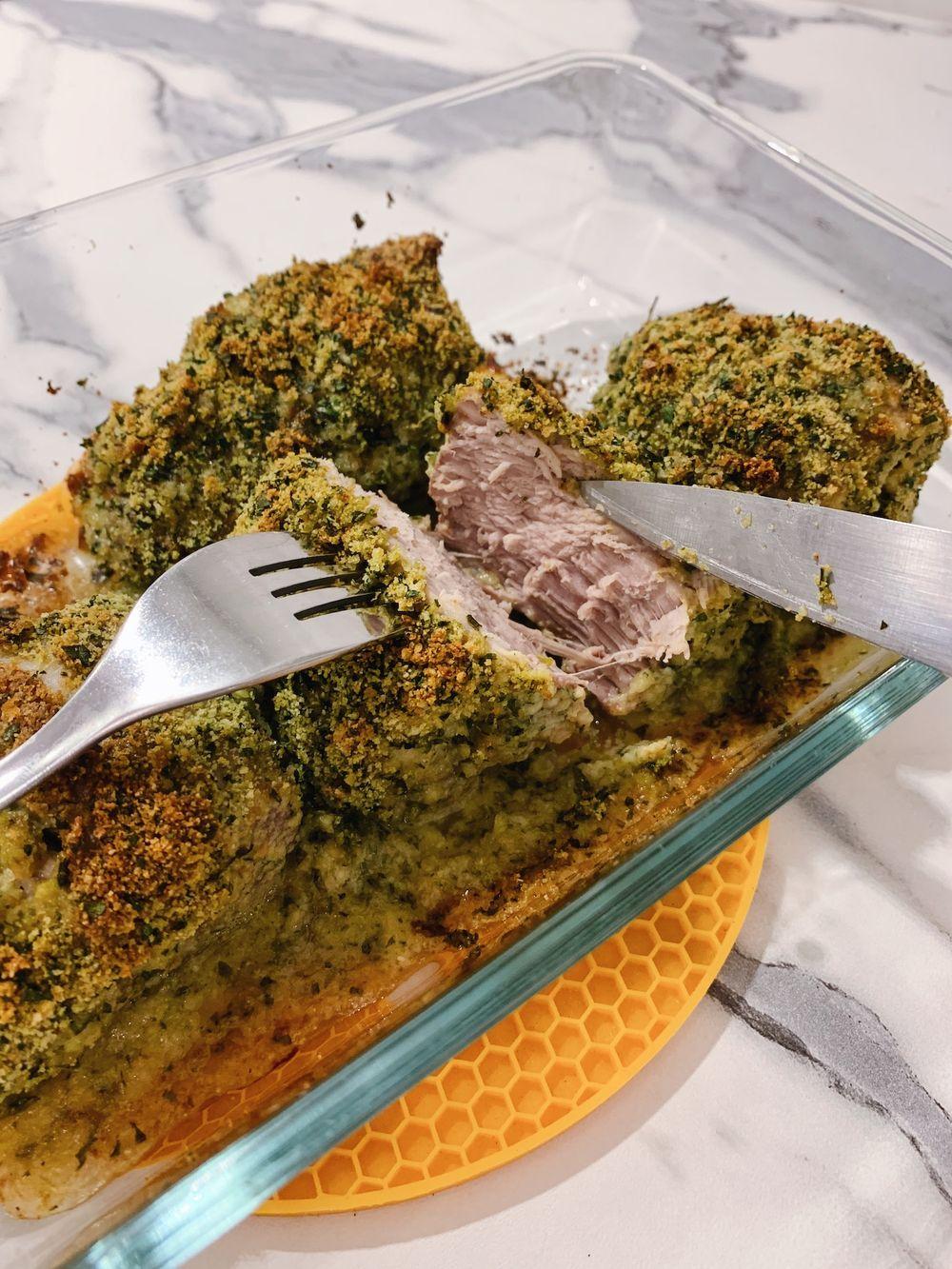 Herb Crusted Pork Tenderloin