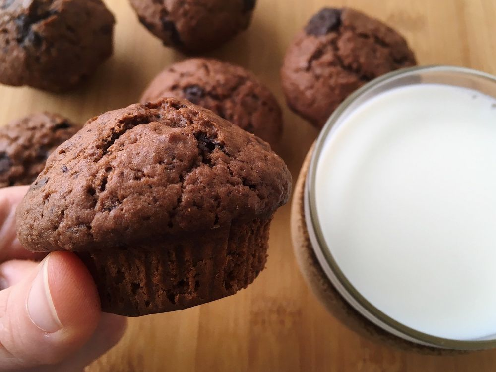 Chocolate Muffins | Cook With ❤