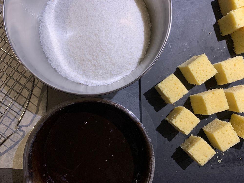 Пирожное Ламингтон | Cook With ❤