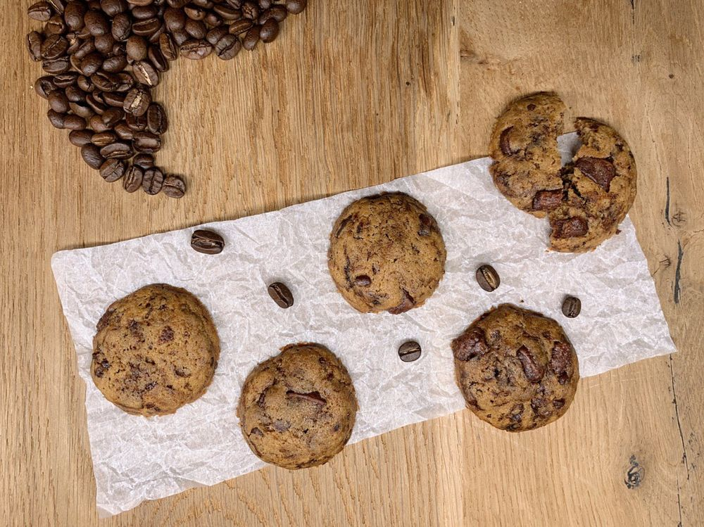 Coffee chocolate chip cookies | Cook With ❤