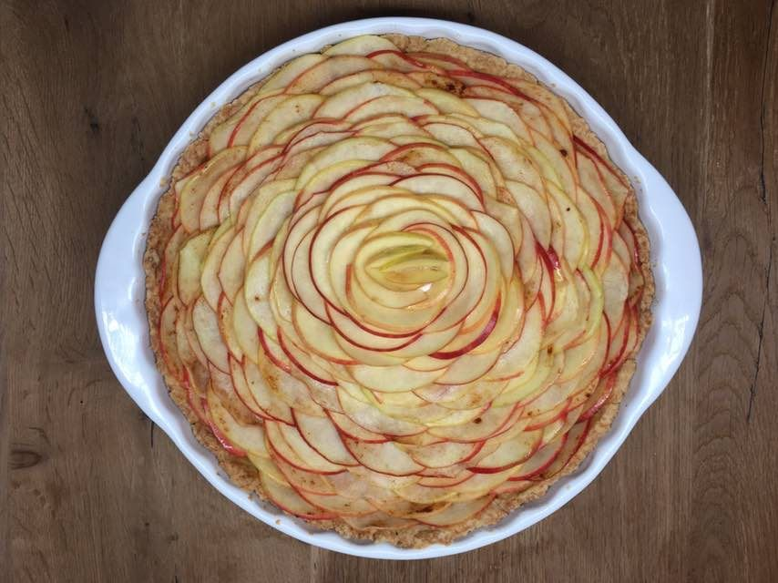 Rose Apple Pie | Cook With ❤